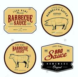 bbq sauce label template free bbq sauce label template template update234