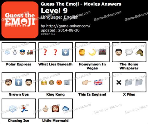 film 9 letters emoji guess the emoji movies level 9 game solver