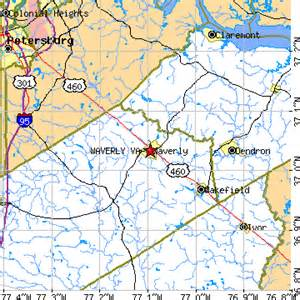 Waverly Virginia Map by Waverly Virginia Va Population Data Races Housing