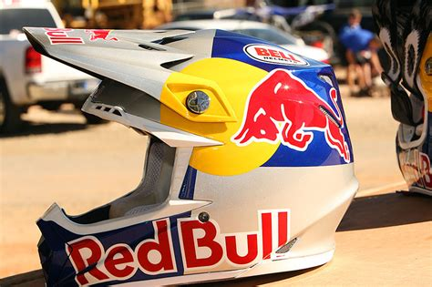 bell red bull motocross james stewart at n a in guelph ontario canada photo by