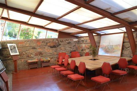 home design center scottsdale az frank lloyd wright s original office now the visitor