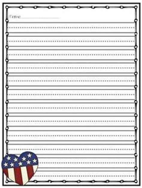 american writing paper 6 best images of patriotic writing paper printable