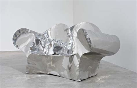 ron arad stainless steel sofa artworks of ron arad british 1951