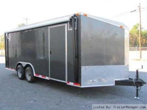 Enclosed Trailer Awning by Buy Sell New Used Trailers In Cargo 8 5x20 Car