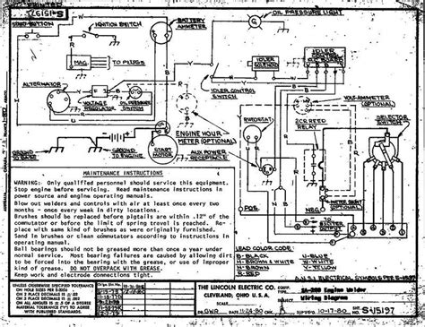 wiring diagram for lincoln sa 200 get free image about
