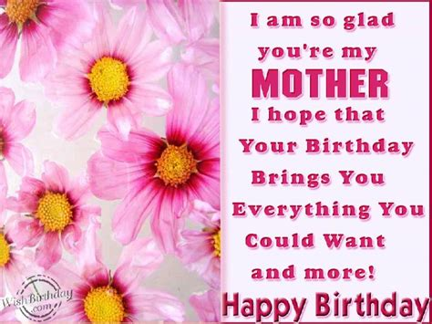 Happy Birthday Wishes From Parents To Download Free Birthday Wishes For Mom From Children The