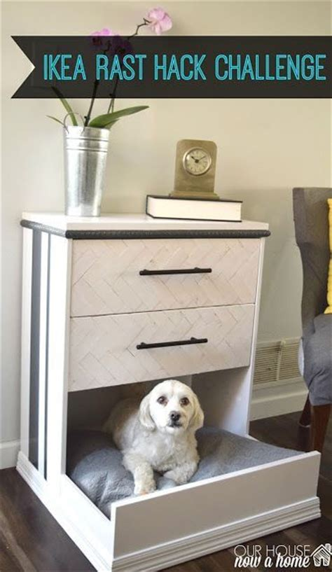 hack and paint ikea rast dresser hack dresser into dog bed how to