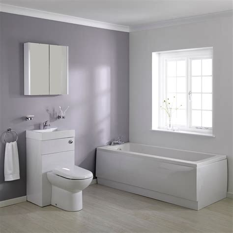 big bathroom company milano 1700mm combination wc unit bathroom suite