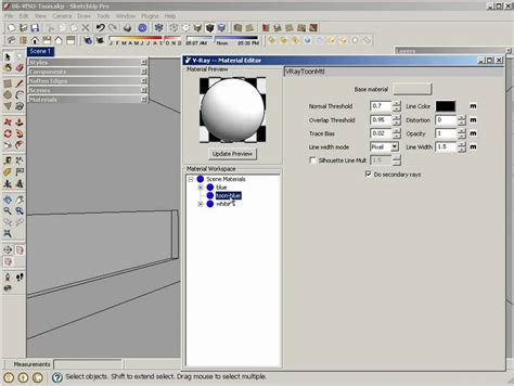 tutorial vray sketchup youtube v ray for sketchup v ray toon tutorial youtube