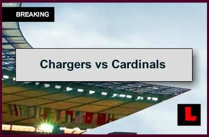 chargers score tonight chargers vs cardinals 2014 score prompts late monday