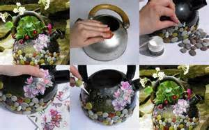 How To Decorate Pot At Home Wonderful Diy Flower Pot From A Kettle