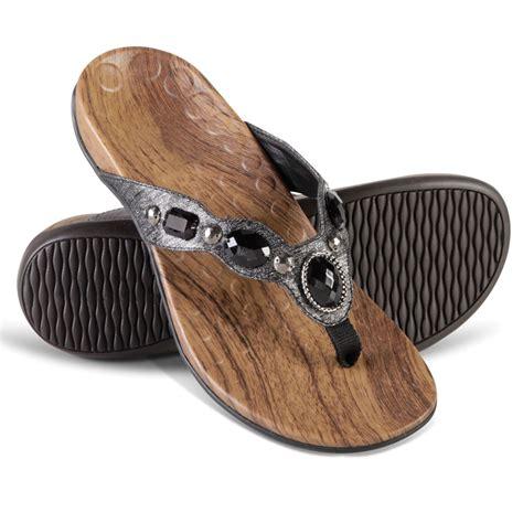 the s plantar fasciitis sparkling sandals hammacher schlemmer