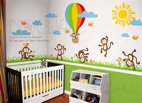 Nursery Wall Decoration Ideas Wall Decoration Modern Nursery Decor Other Metro By Designer Playground
