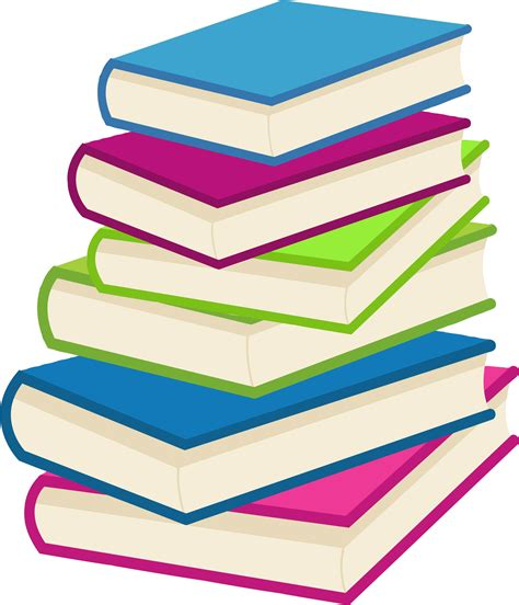 book clipart clipart stack of books 2