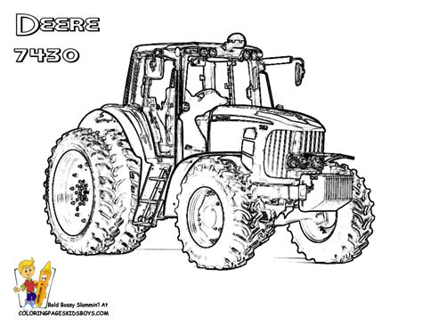 printable coloring pages john deere tractors daring john deere coloring free john deere john