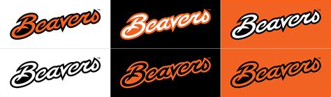 oregon state colors beavers script relations and marketing