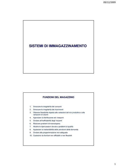 dispense impianti industriali magazzino sistemi di imagazzinamento e criteri di
