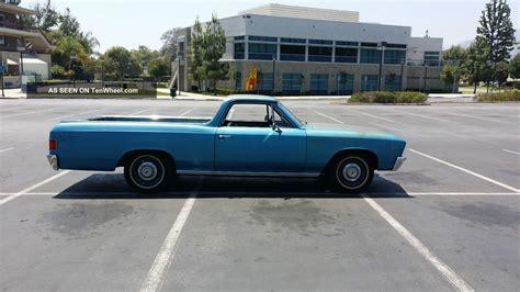 1967 chevrolet el camino base standard cab 2 door