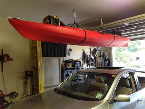 pr boat share   store kayaks  garage
