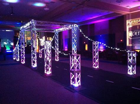 dance themed events nyc prom theme over the top prom decor new york new