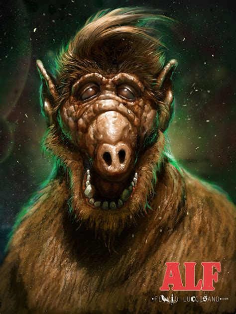 monster of the week alf the alien life form stuff to
