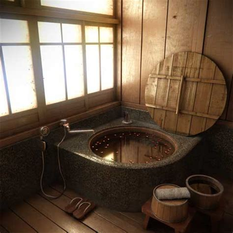 Traditional Japanese Bathtub by Japanese Bathroom Design Ideas And Style Interior Fans
