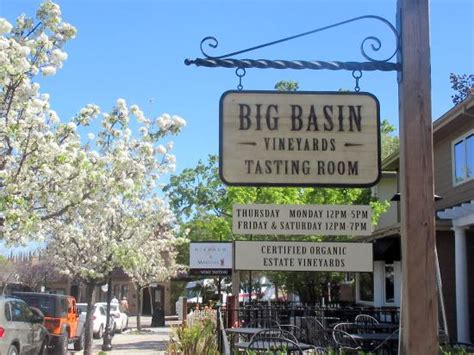 big basin vineyards tasting room photo de big basin
