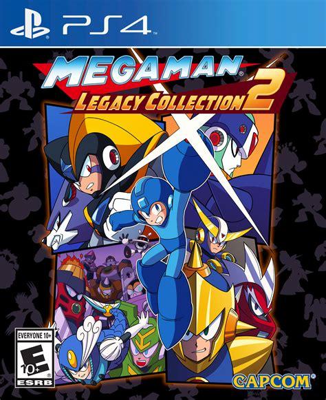 ps4 megaman legacy collection mega mega legacy collection 2 ps4 boxart