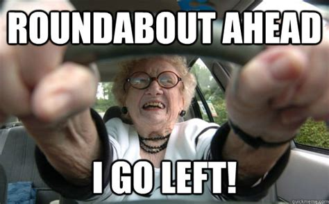 Funny Old People Meme - funny old people driving memes