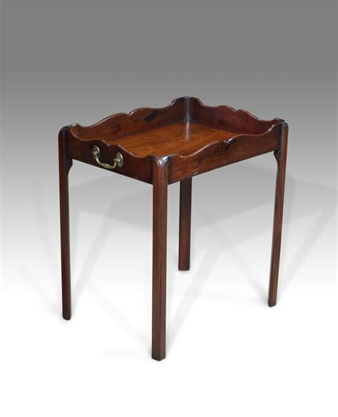 antique coffee table low table georgian tray table
