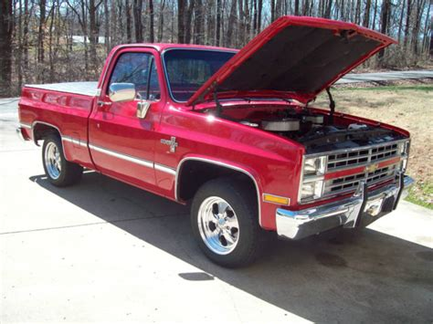 silverado short bed 1985 chevy silverado short bed