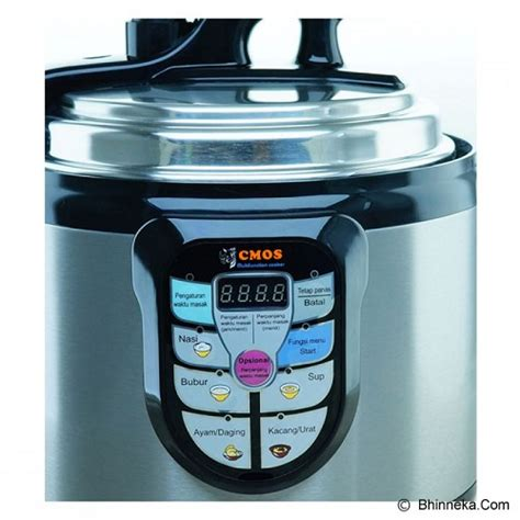 Rice Cooker Cmos jual rice cooker cmos pressure cooker cpc 02l harga