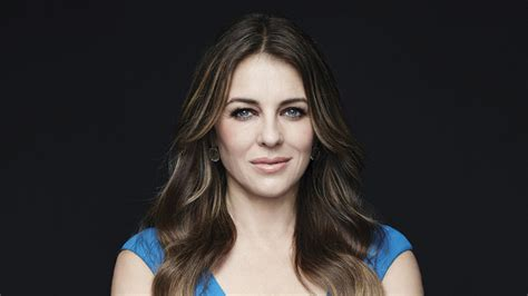 Elizabeth Hurley Faces Time Hollyscoop by The Royals E Premiere Elizabeth Hurley Teases Evil