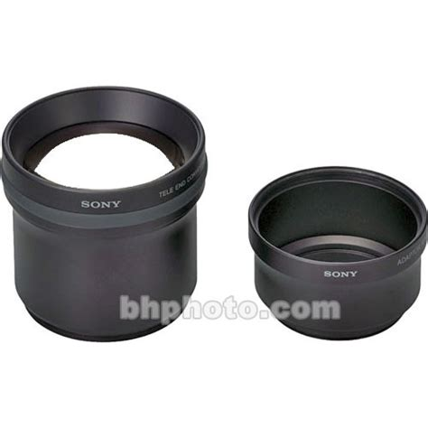 Sony Tele Conversion Vcl Dh2637 For Lens Ring 37mm sony vcl deh17va telephoto lens with atapter lens