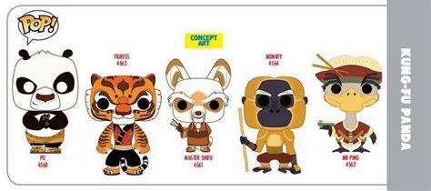 Pop Kung Fu Panda Tigress kung fu panda pop vinyl series funko hi def pop culture collectible community