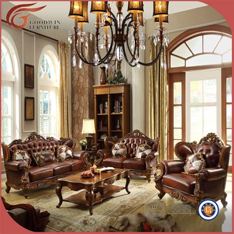 Elegant Antique Living Room Furniture Wholesale Leather Living Room Furniture Wholesale