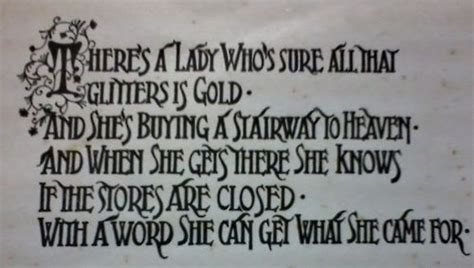 stairwells lyrics there s a feeling i get when i look to the west