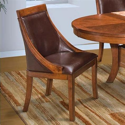 Dining Room Club Chairs by New Classic Aspen Table Club Chair Boulevard Home