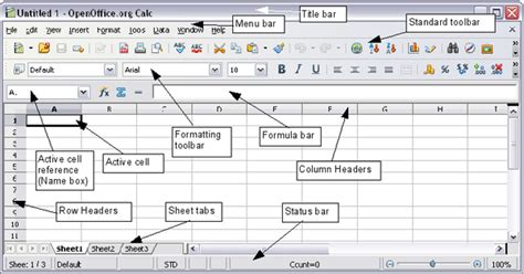 Parts Of A Spreadsheet by Parts Of The Calc Window Apache Openoffice Wiki