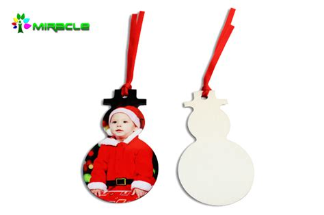 high quality mdf sublimation christmas ornaments buy