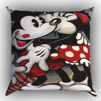 Mickey And Minnie Pillows by Best Minnie Mouse Pillow Products On Wanelo