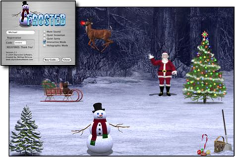 christmas themes for mac mac os x christmas theme screen savers the mac observer