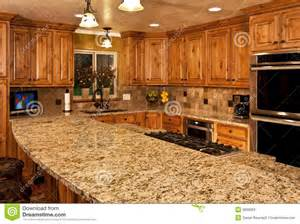 kitchen center island cabinets new kitchen with center island stock photos image 9898063