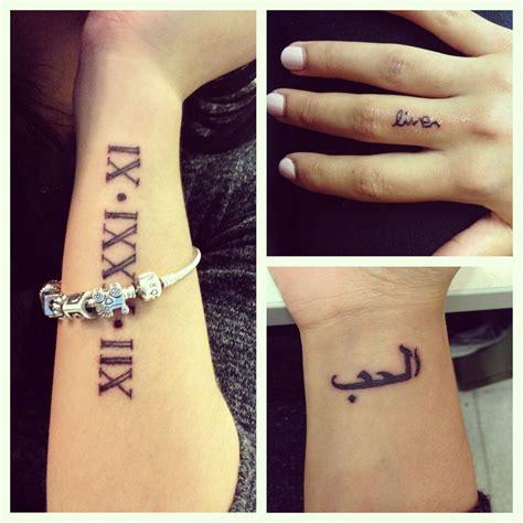 arabic tattoo on wrist wrist finger tattoos it says in arabic