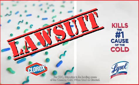 clorox lawsuit accuses lysol  playing dirty  comparing cleansers coupons   news