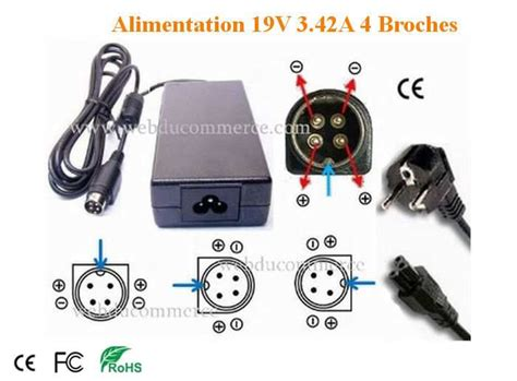 alimentatore 4 pin alimentation 4 pin