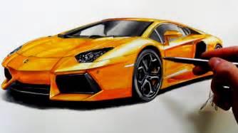 Draw Lamborghini Drawing Lamborghini Aventador