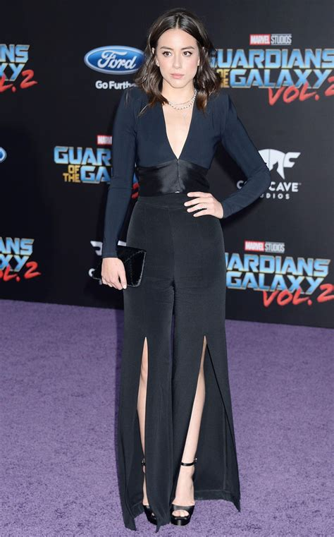 movie with chloe bennet chloe bennet at guardians of the galaxy vol 2 premiere in