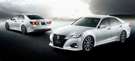 Toyota Crown 2015 2016 Toyota Crown Facelift Receives Trd Styling Kits