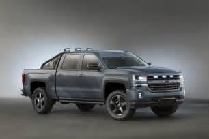 Chevrolet Special Edition Chevrolet Silverado Special Ops Takes Sema By